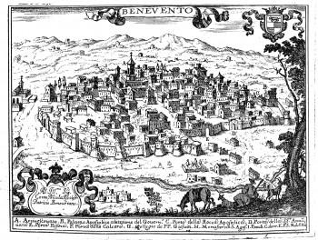 Benevento by Pacichelli