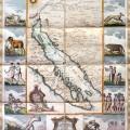Mapa De La California su Golfo y Provincias fronteras en el Continente De Nueva Espana