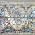Geographia Restituta per Globi Trientes : Auctore Francisco Haraeo