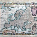 A New Plaine & Exact MAP of EUROPE described by N: I: Visscher