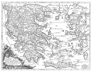La Grecia universale antica paragonata con la Moderna : con le direttioni delle Carte Migliori è de piu'..