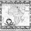 CARTE D'AFRIQUE divisée en ses principaux Etats..