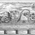 Abriss der Deryen gegeneinander correspondierenden… Monaco, Capo di Sant Spirito, und Niza di Provenza.