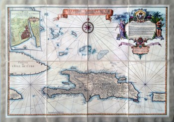 Isle de S. Domingue et débouquemens circonvoisins